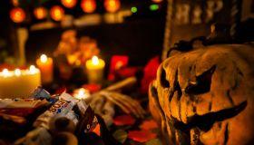 Halloween Preparation In Netherlands