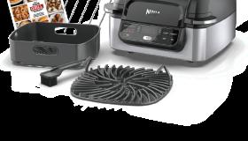Ninja Foodi 5-in-1 Indoor Grill with 4-Quart Air Fryer