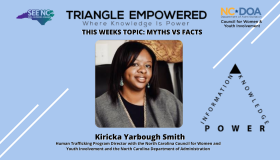 Triangle Empowered Virtual Series january