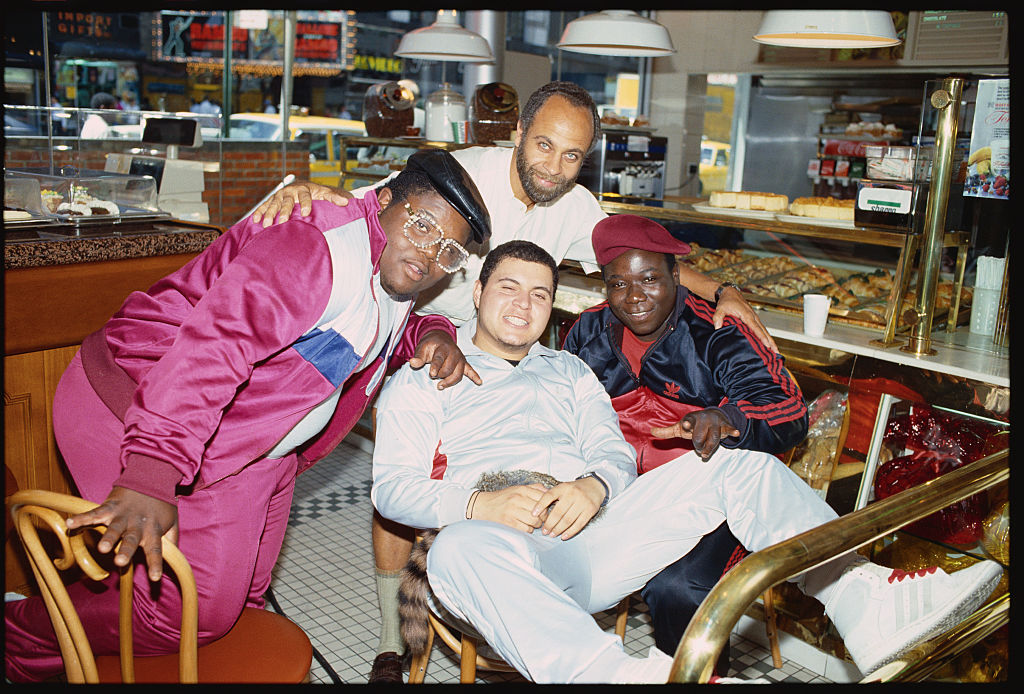 Michael Schultz with the Fat Boys