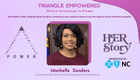 Triangle Empowered Virtual Town Hall Series HER STORY