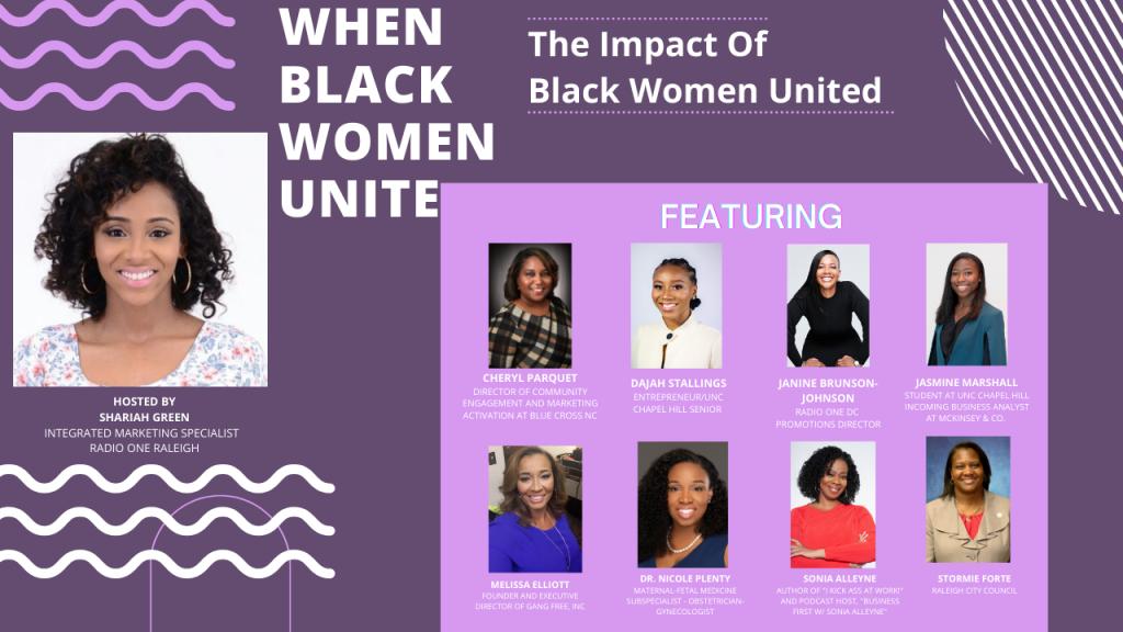 When Black Women Unite Raleigh