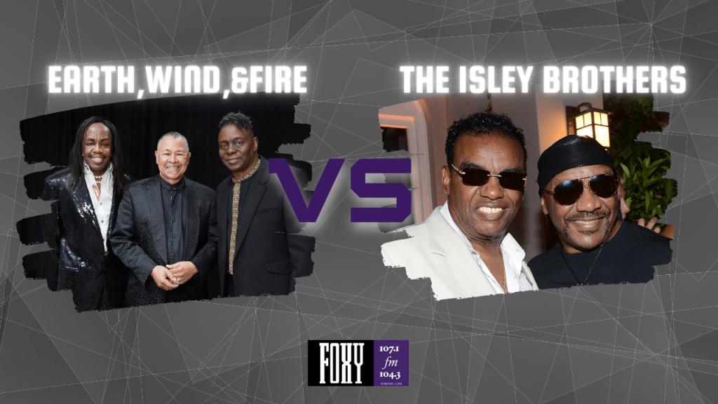 Isley Brothers vs Earth, Wind, & Fire
