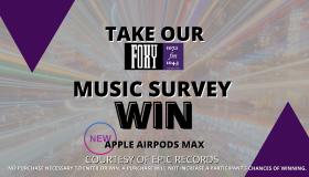 TAKE OUR MUSIC SURVEY