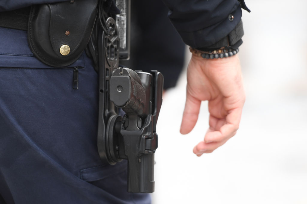 Body-Cam in police operation