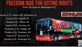 Black Voters Matter   Freedom Ride For Voting Rights!