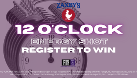 The Zaxby's 12 o'clock Energy Shot Register to Win