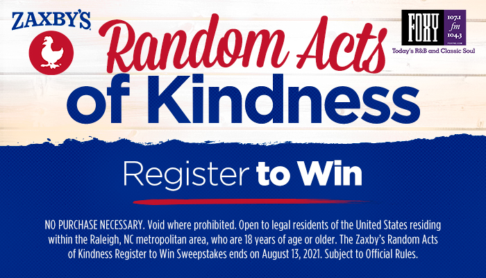 The Zaxby's Random Acts of Kindness