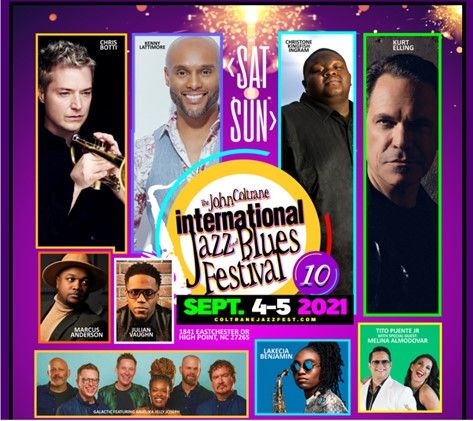 Coltrane Jazz Festival Line-up