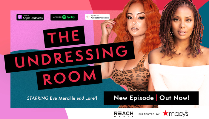 The Undressing Room Podcast Feature Graphic
